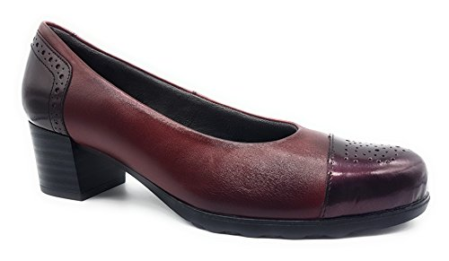 PITILLOS PITILLOS Shoes Court Burgundy Women's Women's qx5RwT5nrI