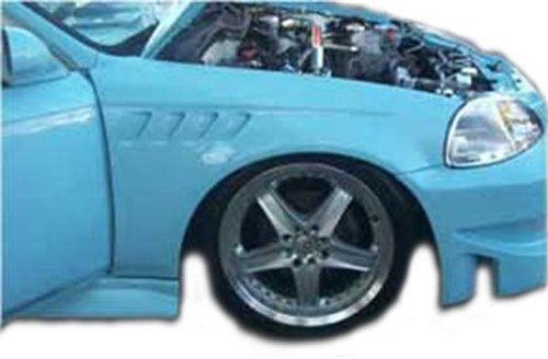 Duraflex Replacement for 1994-1998 Ford Mustang Z3 Fenders - 2 Piece ()