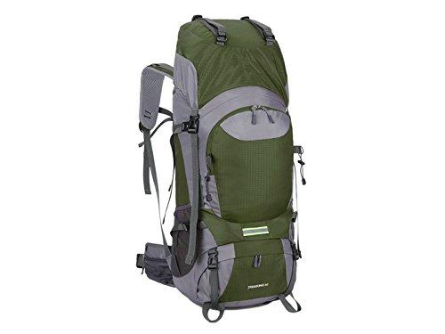zehaerハイキング大容量ハイキング登山バッグ60lアウトドア登山バックパック(グリーン) アウトドア旅行   B07FM77LHG