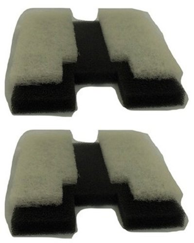 (2) Danner Coarse Foam/Poly Pad Replacement Filters for Pondmaster 190 - 12195 (Poly Coarse Pad)