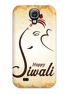 Defender Case For Galaxy S4, Happy Diwali Pattern
