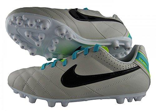 Nike Jr Tiempo Natural IV LTR AG 509080 001 Football Boots Beige grey - grey QT7w0w