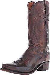 Lucchese Men's Clint Peanut Brittle Boot 8 D (M)