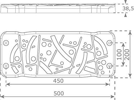 Klingl Schaukelsitz Style XL Kette:200 cm verzinkt Kette zur Auswahl DIN 1176 /öffentlich Erwachsenenschaukelsitz Verzinkt oder Edelstahl schwarz