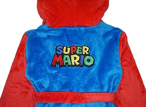 Super Mario Boys Bonus Plush Robe