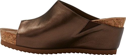 Women's Leather Tiegan Wedge Mestico Cradles New Walking Sandal Copper 5wFqWv6w8n