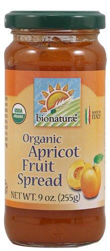Bionaturae Organic Fruit Spread Apricot -- 9 oz - 2 pc (Organic Apricot Spread)