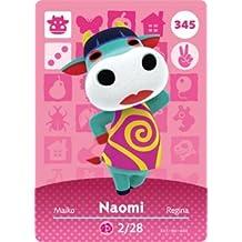 Naomi- Nintendo Animal Crossing Happy Home Designer Series 4 Amiibo Card -345