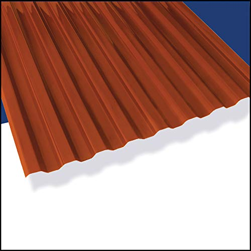 "Suntuf Red Brick 72""x26"" (10 Pack)"