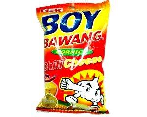 3-packs Boy Bawang, Cornick, Chili Cheese Flavor 100g Ea