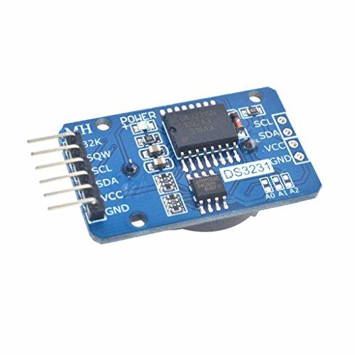 DS3231リアル時間モジュール RTC リアルタイムクロックモジュール Arduino用 高精度