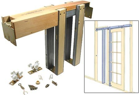 1500 Commercial Grade Pocket Door Frame (32'' x 80'')