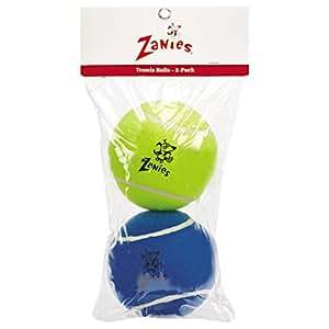 "Zanies 5"" Tennis Ball for Dogs, 2-Packs"