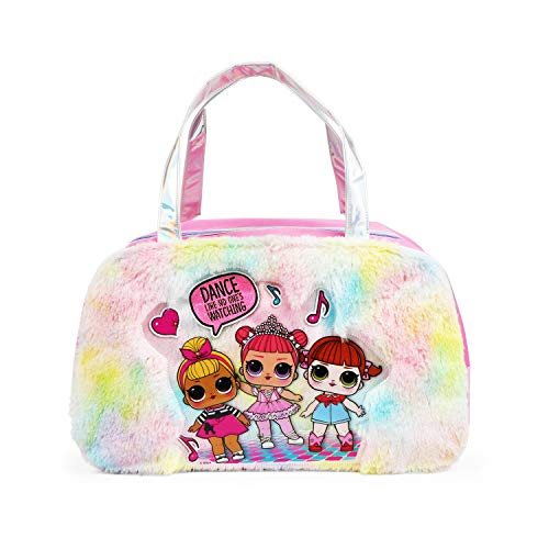 LOL Surprise Fur Rainbow Duffel Bag for Girls (Best Selling Pillow Pets)