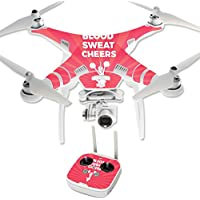 Skin For DJI Phantom 3 Professional – Blood Sweat Cheers   MightySkins Protective, Durable, and Unique Vinyl Decal wrap cover   Easy To Apply, Remove, and Change Styles   Made in the USA