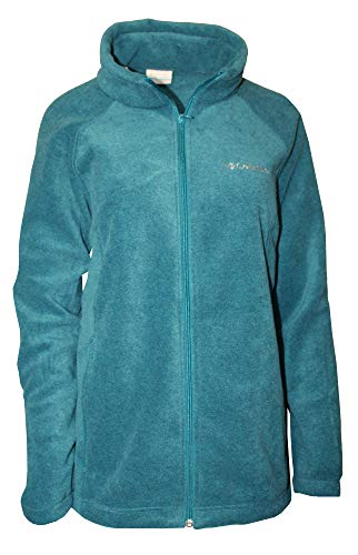 (Columbia Women's Plus Sawyer Rapids 2.0 Fleece Full Zip Jacket (Aegean Blue,)