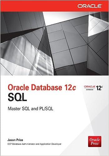Amazon Com Oracle Database 12c Sql Ebook Jason Price Kindle Store