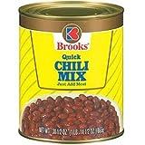 Brooks Chili Mix, Quick 30.5 oz (Pack of 12)