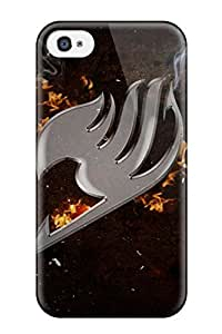 TYH - 8210132K68873613 ipod High Quality Tpu Case Erza Scarlet Fairy Tail Case Cover For ipod Touch 4 phone case