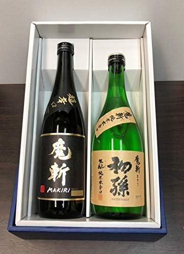初孫 魔斬(特別純米)・黒魔斬(純米大吟醸)セット 720ml×2本 【限定品】
