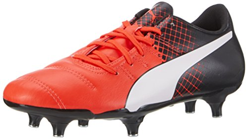 Evopower De Blast nero 3 Red Puma bianco 4 Chaussure Sg Football PTvqXd