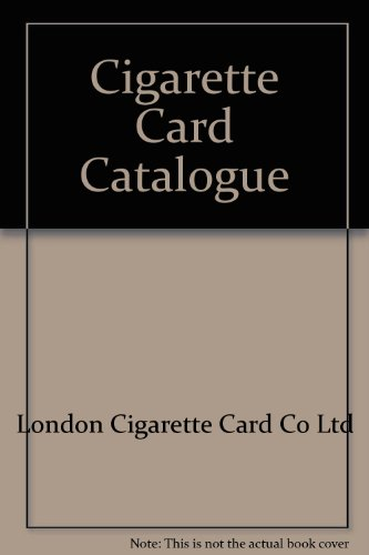 (Cigarette Card Catalogue: 2000 Edition )