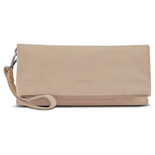 """Clutch Bag Expatrié """"Marie"""" Faux Leather Shoulder Handbag Women Purse Messenger"""