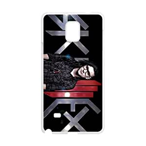 skrillex 3 Samsung Galaxy Note 4 Cell Phone Case White Classical