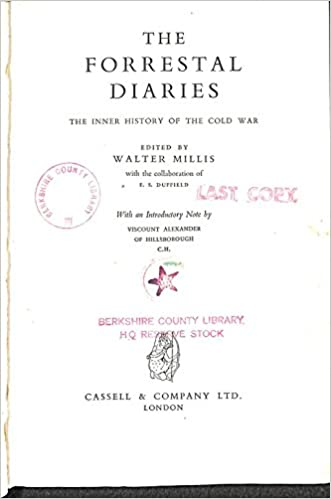 The Forrestal Diaries. The inner history of the cold war. Edited by ...