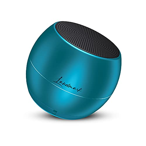 LANDMARK LM BT1045 Smallest Wireless Bluetooth Speaker with Powerful Bass Sound & in-Built Mic with Voice Assistance – Blue
