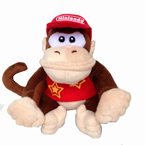 Super Mario Bros Diddy Kong Soft Plush Toy Donkey Kong Country Didi Kongu 7
