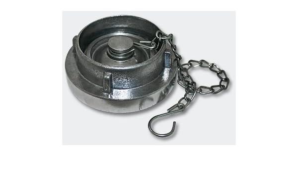 "acoplamiento rápido Storz B 3/"" ciego embrague con cadena aluminum embrague pulgadas"