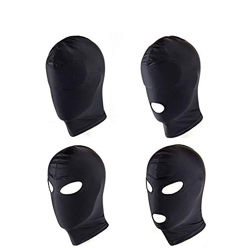 4 Style Fetish Mask Hood Sexy Toy Open Mouth Eye Bondage Hood Party Mask Cosplay Hood Headgear Mask Adult Game Sex Product All Inclusive by Sex Adult Games