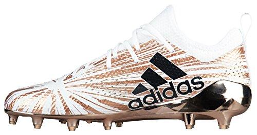 Adidas Adizero 5 Stelle 7.0 Metallico Mens Mens Cq0346 Rogome, Cblack, Ftwwht