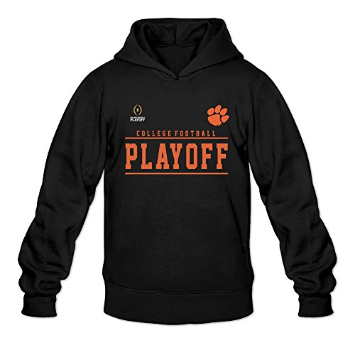 Clemson Tigers 2016 College Football Hoodies Man's Black