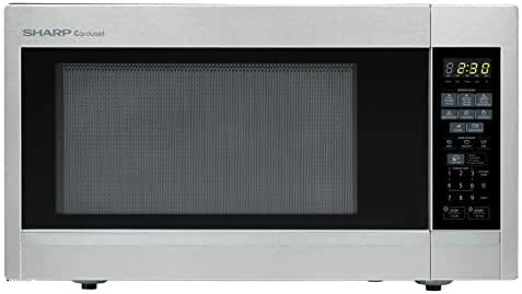 Sharp Countertop Microwave Oven ZR551ZS 1.8 cu. ft. 1100W Stainless Steel with Sensor Cooking