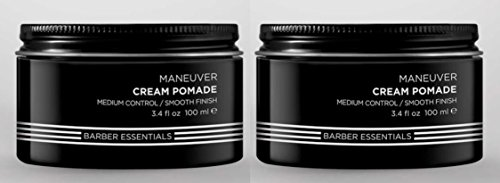 - Redken Brews Maneuver Medium Control Cream Pomade 3.4 oz. Pack of 2