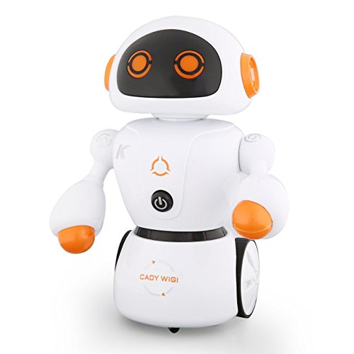 JJR/C R6 CADY WIGIインテリジェントRCロボットミュージックダンススマートロボットキッドおもちゃギフト