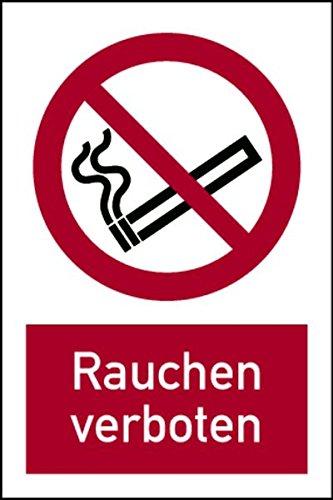 adhesiva (Combi Cartel prohibido fumar DIN EN ISO 7010 - 150 ...