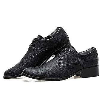 Derby Dress Hombres Correas de encaje Zapatos de vestir 2019 ...
