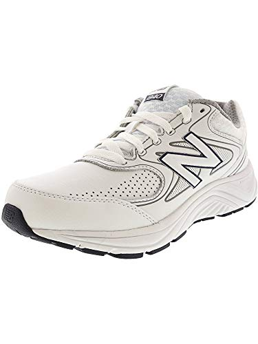 - New Balance Men's MW840v2 Walking Shoe, White, 12 D US