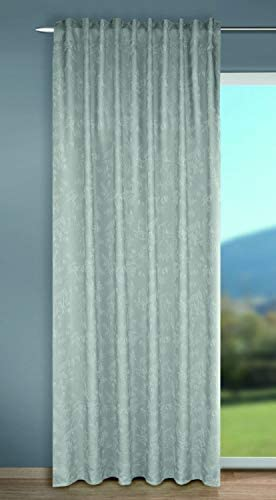 Albani Stella – Sciarpa con passanti nascosti, 245 x 135 cm, colore: Argento