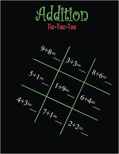 Descargar Libro Ebook Addition Tic-tac-toe PDF