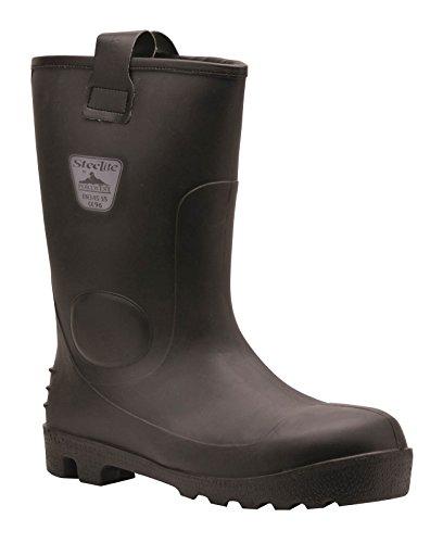 PORTWEST FW75 Steelite™ Neptune Rigger Boot S5 CI Black FW75BK-R44