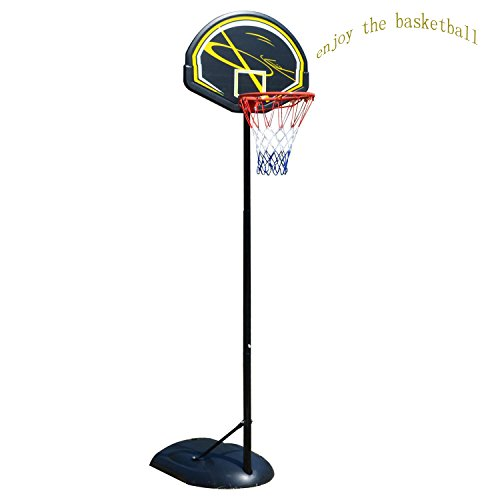 Indoor Basketball System, Cheesea Portable Basketball System Hoop wihth Adjustable Height (61.4 -84.3inch) for Adult/Youth Indoor Outdoor