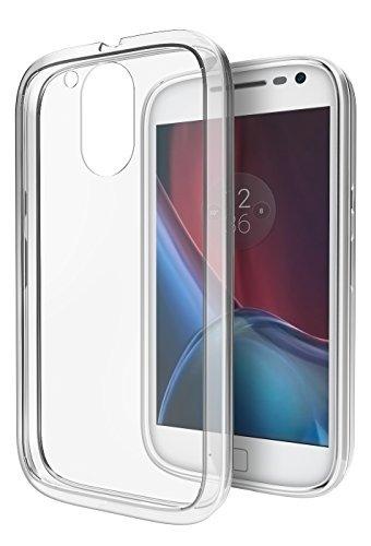 Moto G4 / G4 Plus Case, Cimo [Hybrid] Premium Clear Back Panel + TPU Bumper Case for Motorola Moto G 4th Generation/Moto G Plus (2016) - Clear