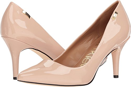 Calvin Klein Womens Kylie Sheer Satin 9.5 M