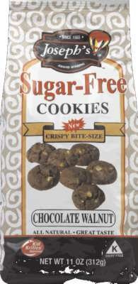 Josephs Cookies Sugar Free Chocolate Walnut, 11 OZ