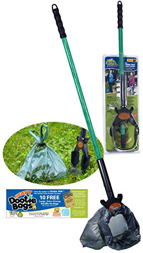 GoGo Stik, The Totally Clean Pooper Scooper. You and Tool Stay Clean! Save and Use Any Bag. Scoop and Collect Until Bag Fills! Use with The E-Z Wedge for Indoors and The Most Challenging Surfaces! from GoGo Stik