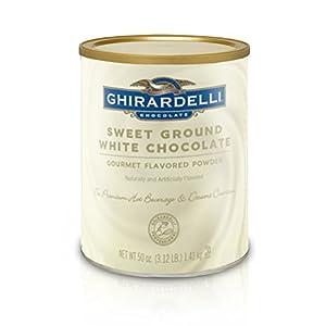 Ghirardelli Sweet Ground White Chocolate Flavored Beverage Mix, 10-Pound Package